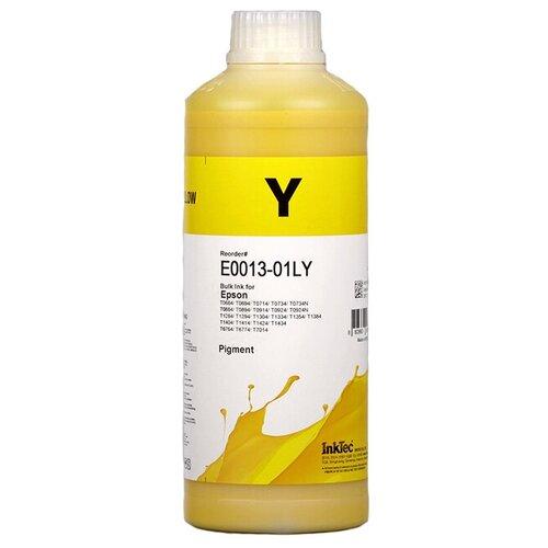 Фото - Чернила пигментные Inktec E0013-01LY желтые для Epson, для заправки СНПЧ и ПЗК пигментные чернила artistri yellow