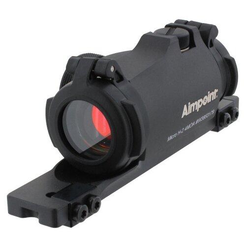 new improved version aimpoint t2 micro green Коллиматорный прицел Aimpoint Micro H-2 с креплением на ласточкин хвост 11-13мм (угловой размер точки 4МОА)