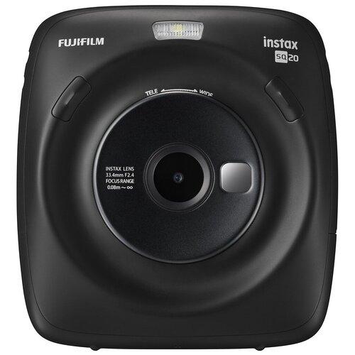 Фотоаппарат моментальной печати Fujifilm Instax SQ 20 черный