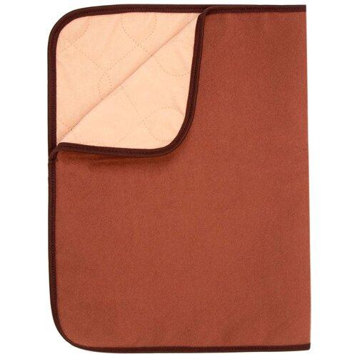 Пеленка многоразовая впитывающая для собак Osso Comfort коричневая 50 х 60 см (1 шт) полотенце шарф охлаждающее для людей osso fashion 25 х 90 см