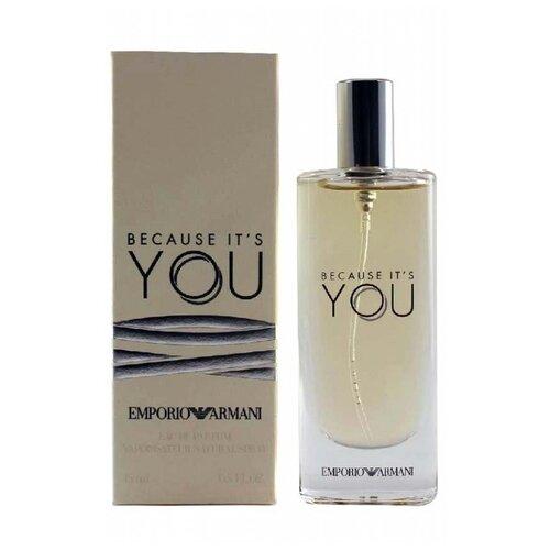 Парфюмерная вода ARMANI Emporio Armani Because It's You, 15 мл недорого