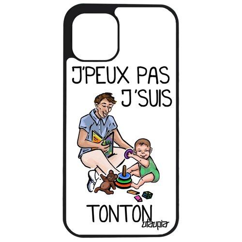 "Чехол для телефона iPhone 12 pro max, ""Не могу - стал дядей!"" Комикс Шутка"