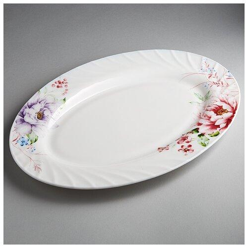Фото - 0001L2/61-SK Блюдо овальное 30,5см Виктория  салатник teropal 0001d9 50 sk asti 21 5 см
