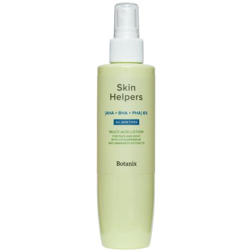Купить Лосьон для тела Botanix Skin Helpers мультикислотный с экстрактами воробейника и амаранта, 200 мл