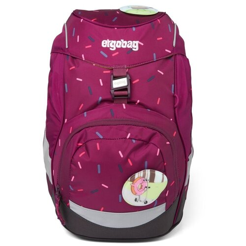 Купить Рюкзак школьный ergobag prime The NutcrackBear (Кэнди), рост 100-150 см, c системой разгрузки спины Your-Size-System, Рюкзаки, ранцы