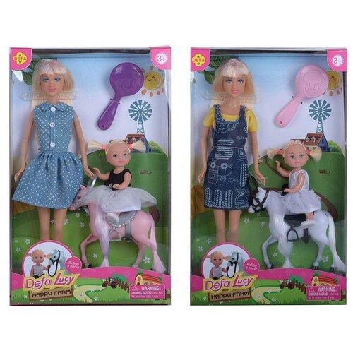 Купить Кукла Defa. Lucy Счастливая ферма, 2 куклы в комплекте, 2 вида в коллекции, Куклы и пупсы
