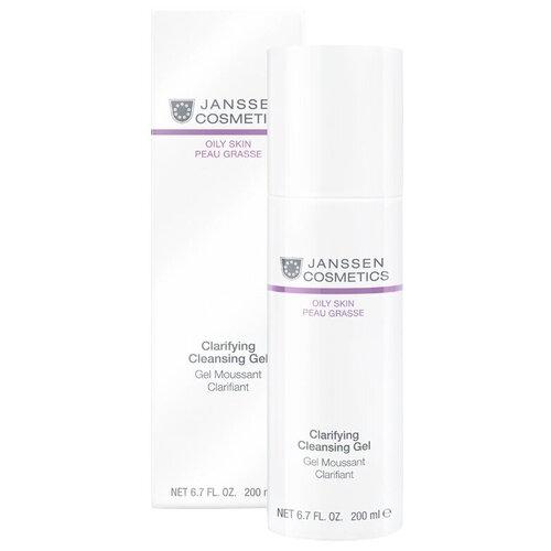 Janssen Cosmetics гель очищающий для жирной кожи Clarifying Cleansing Gel, 200 мл недорого