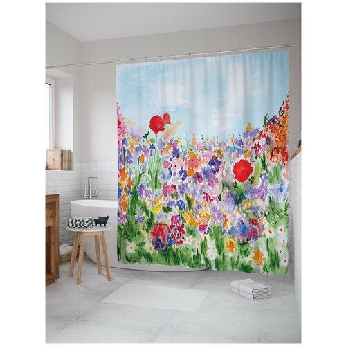 Фото - Штора для ванной JoyArty В поисках вдохновения 180х200 (sc-14552) штора для ванной joyarty подарки для семьи 180х200 sc 78656