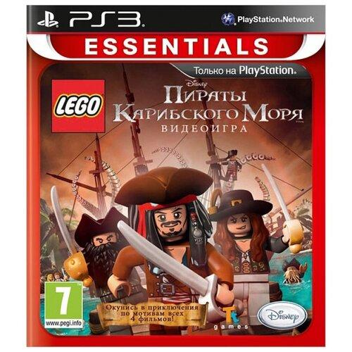 PS3 Lego Pirates Of Caribbean (LEGO Пираты Карибского Моря) (русские субтитры) пираты карибского моря