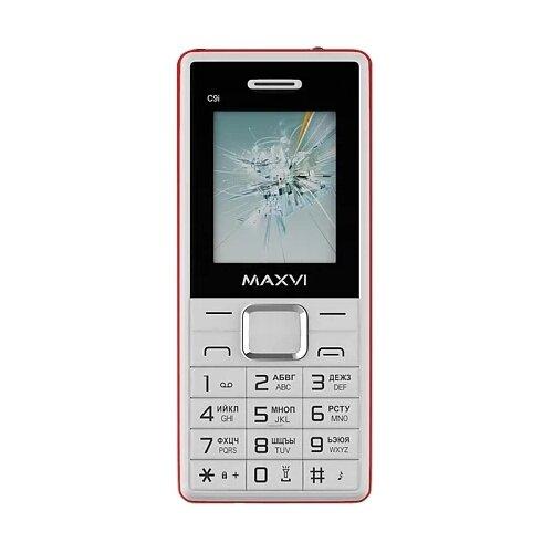 Телефон MAXVI C9i белый/красный