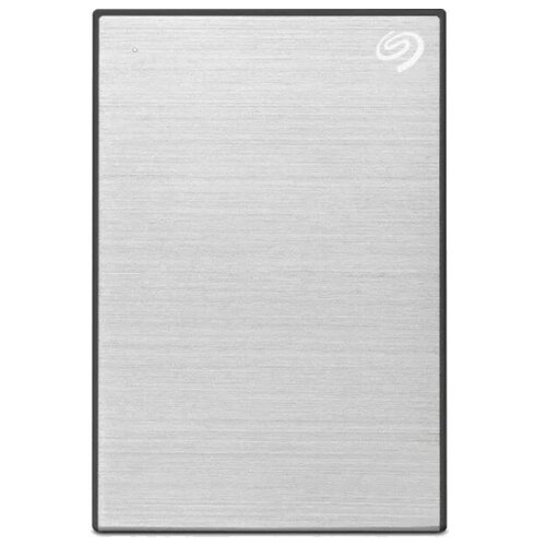 External HDD 2.5 4.0Tb Seagate One Touch USB3.2 Gen 1, Silver