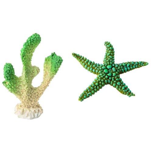 Декорации для оформления аквариума Marvelous Aqva набор, N-06