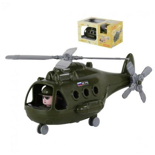 Купить Вертолёт военный Альфа (в коробке) 29х16, 5х15, 5 см., Полесье, Машинки и техника