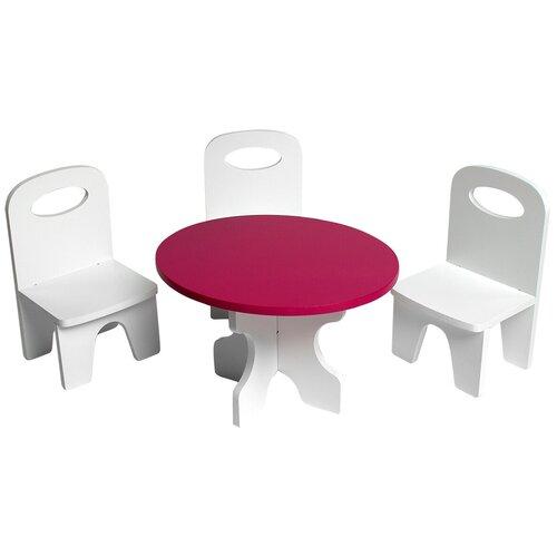 Фото - PAREMO Набор мебели для кукол Классика (PFD120) белый/ягодный paremo набор мебели для кукол цветок pfd120 45 pfd120 46 pfd120 44 pfd120 42 pfd120 43 белый фиолетовый