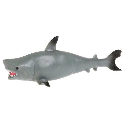 Игрушка-мялка Играем вместе Тигровая акула W6328-182T-R серый