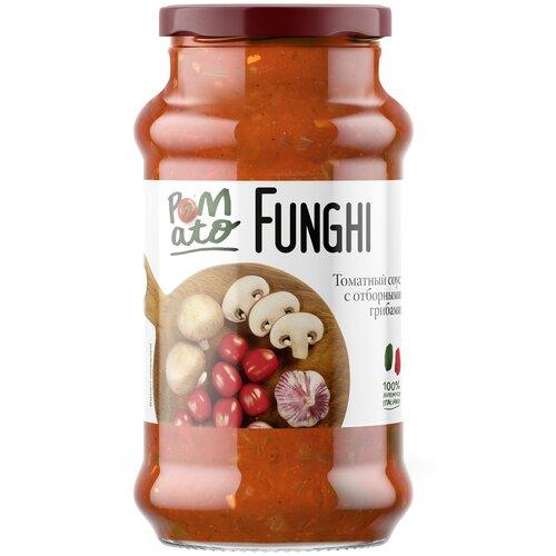pomato помидоры протертые 390 г Соус Pomato Томатный Funghi с отборными грибами 350 г