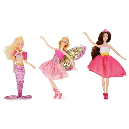 Набор кукол QIAN JIA TOYS Emily Необычные подружки, 28 см, HP1110890