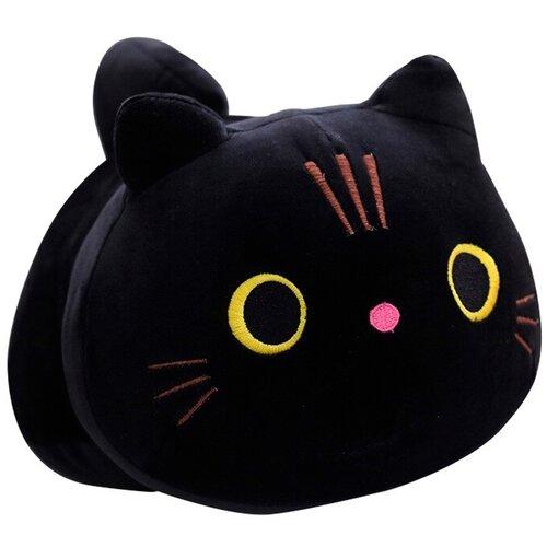 Мягкая игрушка 50см Детская игрушка в подарок / Плюшевая игрушка для детей Cat (Черный)