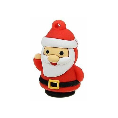 Фото - Флешка SmartBuy NY series Santa-S 32 GB, 1 шт., красный флешка smartbuy ny series snow 16 gb красный белый