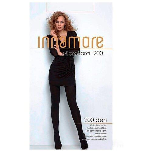 Фото - Колготки Innamore Microfibra, 200 den, размер 2-S, moka (коричневый) колготки innamore microfibra 100 den размер 2 s moka коричневый
