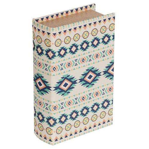 Купить Шкатулка-книга Gamma 17*11*5 см, Орнамент (BBK-01), Шкатулки для рукоделия