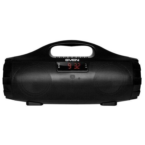 Портативная акустика SVEN PS-460, черный портативная акустика sven ps 68 черный