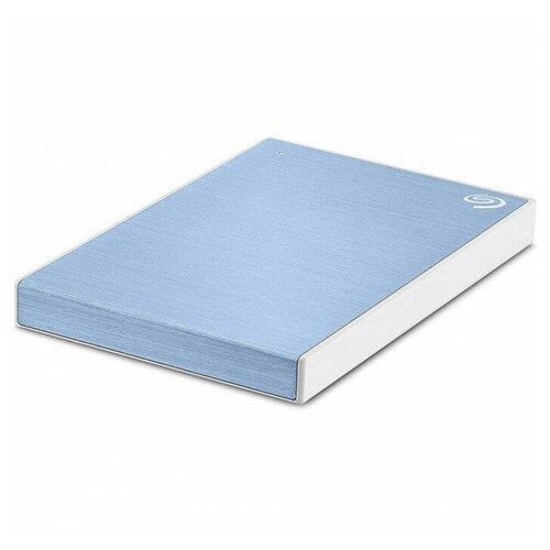 Фото - Внешний HDD Seagate One Touch 1 ТБ, голубой внешний hdd seagate original one touch 1tb stkb1000401 серебристый