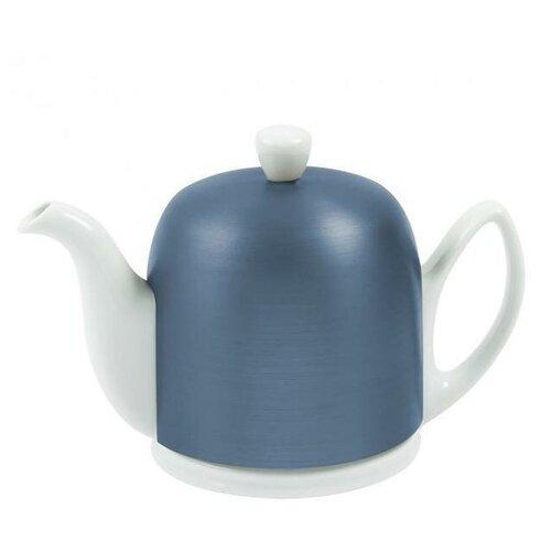 Фото - Чайник заварочный Salam White (0.9 л), с колпаком, на 6 чашек 225359 Guy Degrenne чайник заварочный salam white 0 37 л с колпаком с ситечком на 2 чашки 211987 guy degrenne