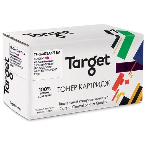 Фото - Картридж Target Q6473A/711M, пурпурный, для лазерного принтера, совместимый картридж target 106r02607m пурпурный для лазерного принтера совместимый
