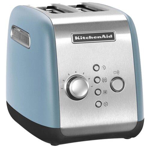 Фото - Тостер KitchenAid 5KMT221EVB, синий бархат тостер kitchenaid 5kmt2204efp морозный жемчуг