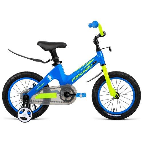 Детский велосипед FORWARD Cosmo 12 (2021) синий (требует финальной сборки)
