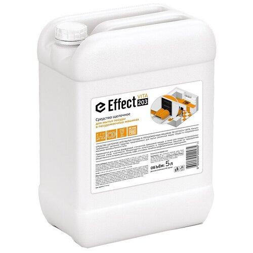 Жидкость для посудомоечной машины Effect средство щелочное для мытья посуды, 5 л