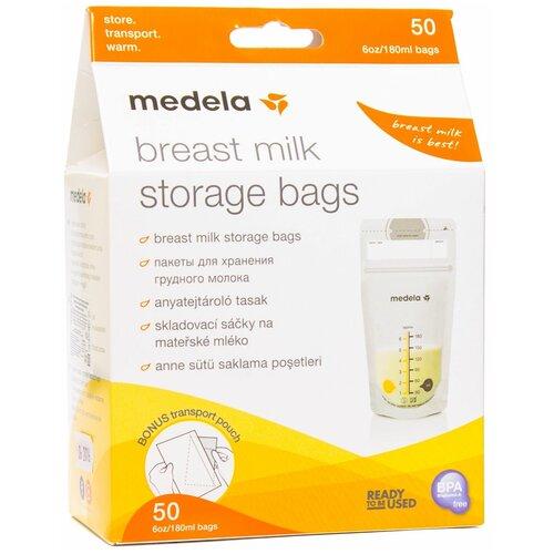 Фото - Medela Пакеты для хранения грудного молока 180 мл 50 шт. контейнеры dr brown s пакеты для хранения грудного молока 180 мл 25 шт