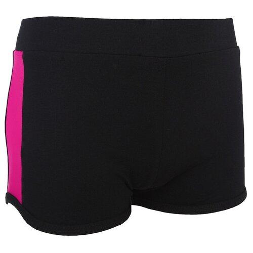 Купить Шорты Grace Dance размер 34, черный/розовый