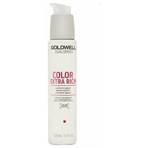 Купить Goldwell Dualsenses Color Extra Rich Brilliance 6 Effects Serum - Сыворотка 6-кратного действия для окрашенных жестких волос 100мл