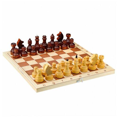 Фото - Настольная игра Игра Шахматы обиходные сувенирные в доске Игра игра