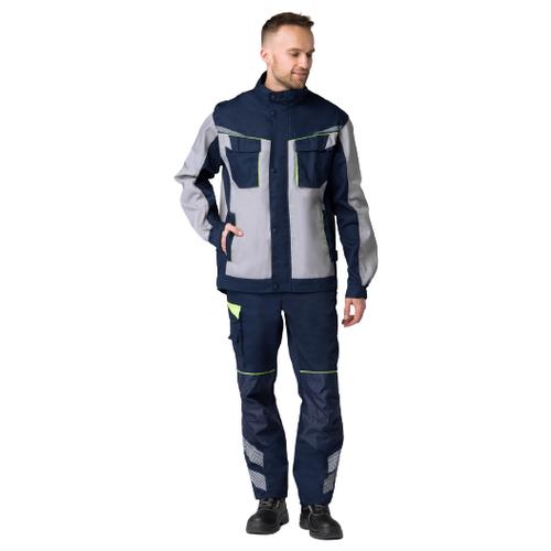 Фото - Куртка укороченная мужская PROFLINE SPECIALIST (тк.Смесовая,240), т.синий/серый (44-46; 170-176) сорочка мужская vester 68814 41s 170 176