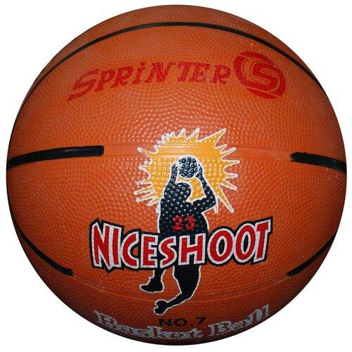 Мяч баскетбольный. Размер 7 . Материал: резина.