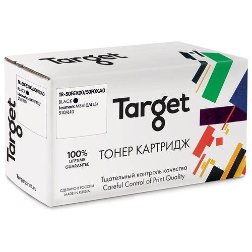 Фото - Тонер-картридж Target 50F5X00/50F0XA0, черный, для лазерного принтера, совместимый тонер картридж target 051h черный для лазерного принтера совместимый