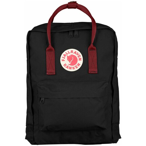 Городской рюкзак Fjallraven Kånken 16, black/ox red