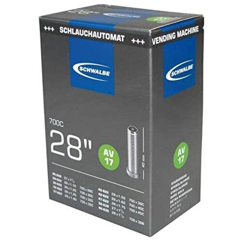 Камера 28 авто ниппель 05-10400070.01 AV17 (28/47-622/635) VM AGV 40mm. SCHWALBE