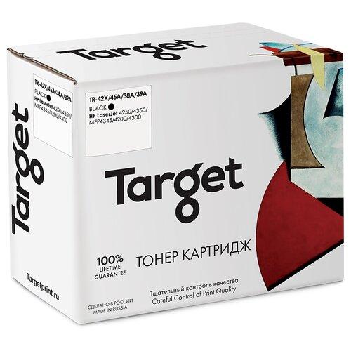 Фото - Тонер-картридж Target 42X/45A/38A/39A, черный, для лазерного принтера, совместимый тонер картридж target 106r01536 черный для лазерного принтера совместимый