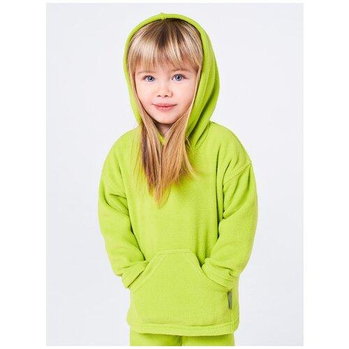 Толстовка Bambinizon ТЛСТ-Ф6-ЗЯ, размер: 98, цвет: зеленый