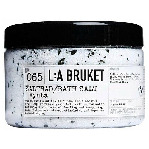 Купить L:A BRUKET Соль для ванн Mynta 065, 450 г