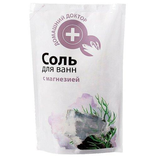 Домашний доктор Соль для ванн с магнезией, 500 г