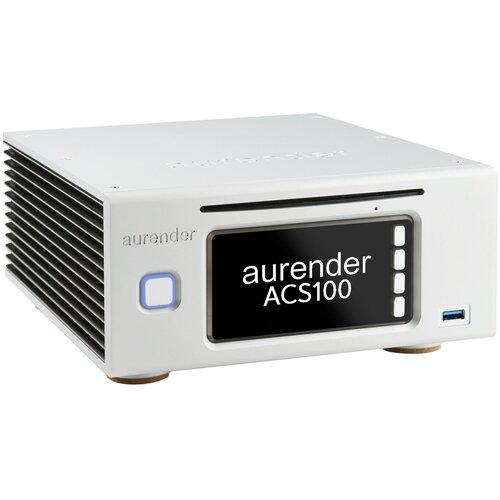 Фото - Сетевой аудиоплеер Aurender ACS100 4TB, серебристый сетевой аудиоплеер audiolab 6000n play silver