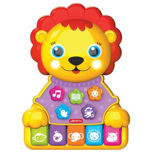 Купить Развивающая игрушка Азбукварик Музыкальные зверята Львенок мультицвет, Развивающие игрушки