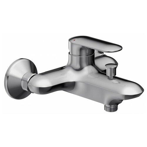 Фото - Смеситель для ванны с подключением душа Jacob Delafon Kumin E99460-CP однорычажный смеситель для ванны с подключением душа jacob delafon aleo e72319 cp однорычажный