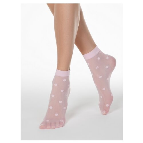 Капроновые носки Conte Elegant 16С-124СП, размер 23-25, light pink