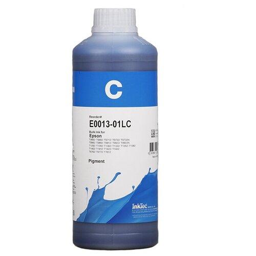 Фото - Чернила пигментные Inktec E0013-01LC голубые для Epson, для заправки СНПЧ и ПЗК пигментные чернила artistri yellow